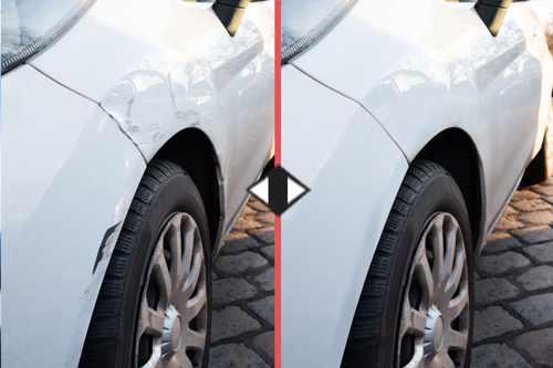 Utah Mobile Paintless Door Dings Repair